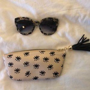 Sonix sunglasses and case